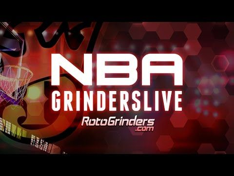 Picks, strategy and advice for tonight's Draft, FantasyDraft, FanDuel and DraftKings NBA games.  https://rotogrinders.com/live - Check out RotoGrinders.com for daily strategy shows that will help you with your FanDuel and DraftKings games. All shows will give you FREE daily fantasy sports advice, expert picks, live chat and more for every major slate of NFL, NBA, MLB and NHL games.   https://youtube.com/c/rotogrinders - Subscribe now for FREE DraftKings & FanDuel advice from the top DFS…