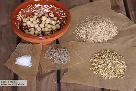 Dukkah Ingredientes