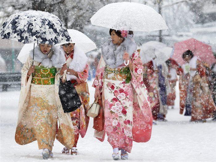 Tokoyo....2013 snow storm..magical