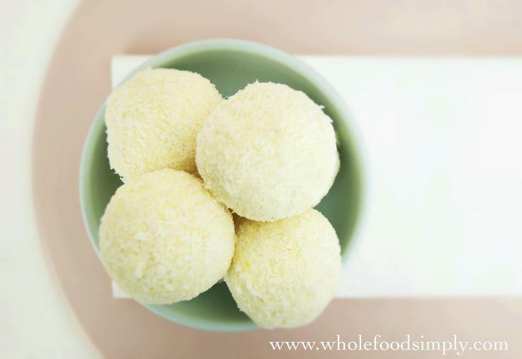 Lemon Cheesecake Bliss Balls
