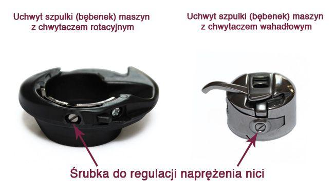 Jak regulować naprężenie nici w bębenku