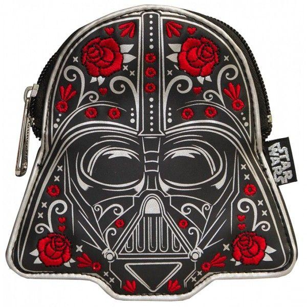 E o que falar desse porta-moeda do Darth Vader no estilo caveira Mexicana?