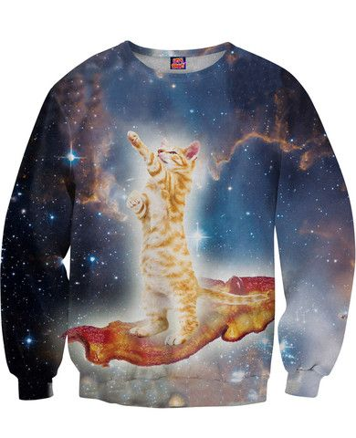 Bacon Cat Sweatshirt - RageOn