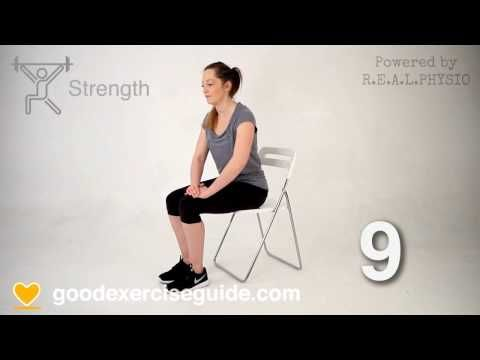 5 Great Physio Exercises for Bakers Cyst Problems - YouTube