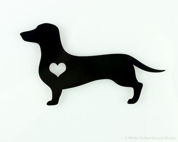 Show your Dachshund love anywhere you go with this Dachshund heart decal! This permanent outdoor decal is available in four sizes and fifteen colors, helping to make it the perfect fit for wherever you want to install it. Available size dimensions are approximate to within 1/2 inch. Custom sizes are available (simply contact us before ordering.) Choose your size and color via the product options before adding to your cart. MORE INFORMATION ABOUT OUR VINYL: - Our outdoor vinyl feature...