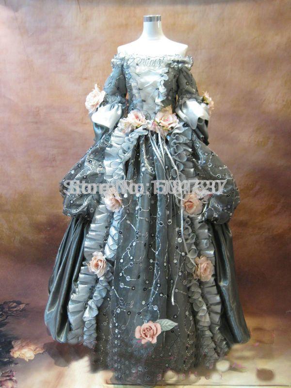 Freeshipping!GT-101 1860S Victorian Sweet Lolita/Civil War Southern Belle Ball Gown Scarlett dresses Sz US 6-26 XS-6XL
