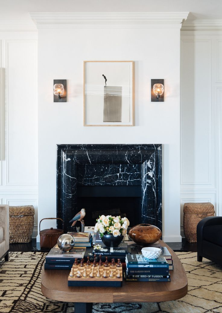 Pacific Heights Prewar | Interior Design   San Francisco   Living Room    Fireplace #NICOLEHOLLIS