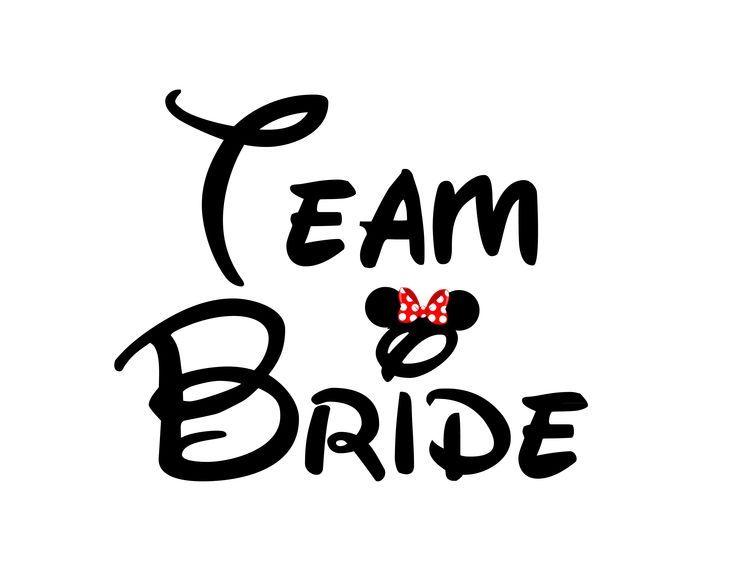 TEAM BRIDE BACHELORETTE DISNEY  BRIDAL SHOWER Despedida de   wedding  Disney bridal