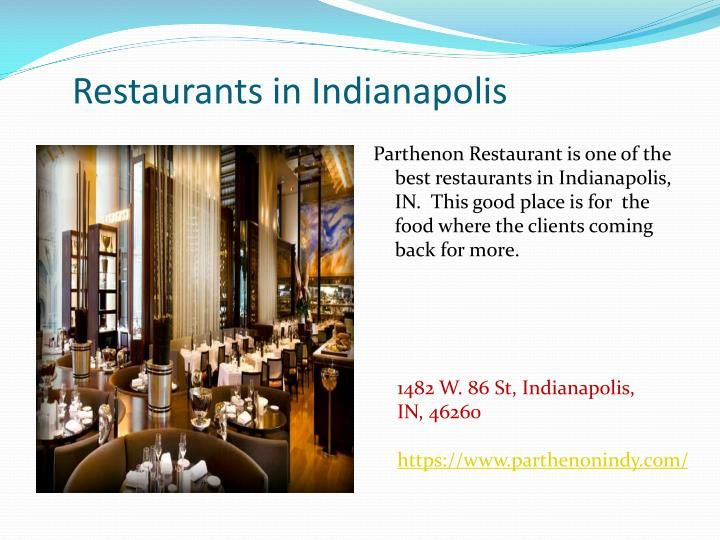 https://www.parthenonindy.com - Parthenon Restaurant is one of the best restaurants in Indianapolis, IN.  This good place is for  the food where the clients coming back for more.