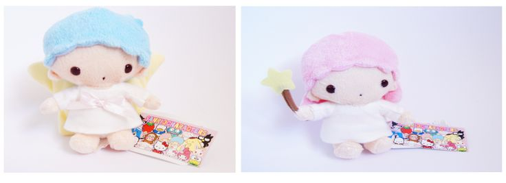 So cute! Checkout these adorable twin stars plushes on our webstore! Katzwhiskas.co.uk
