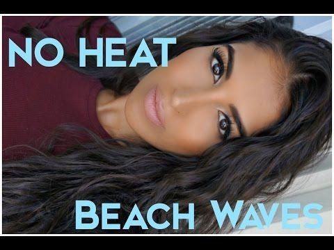 ▶ No Heat Easy Beach Waves - YouTube
