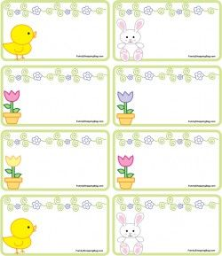 123 best carte etiquette images on pinterest cards etiquette bunny and chicks gift tags negle Choice Image