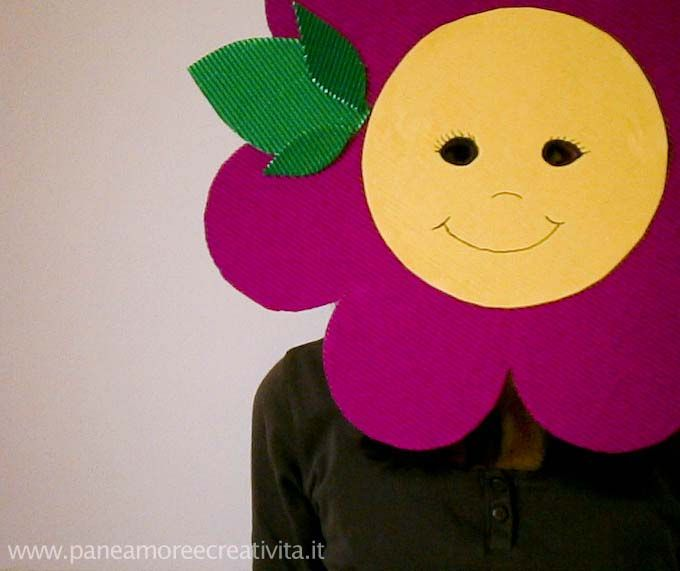 Carnevale fai da te: la maschera fiore - FunLab Blog
