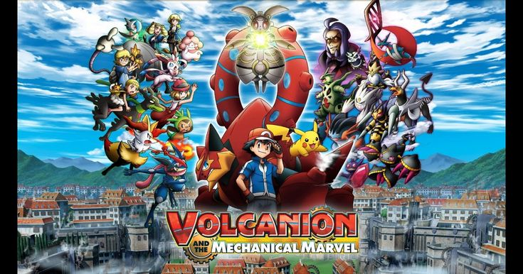 The Pokémon Movie: Volcanion and the Mechanical Marvel Now Available On Netflix