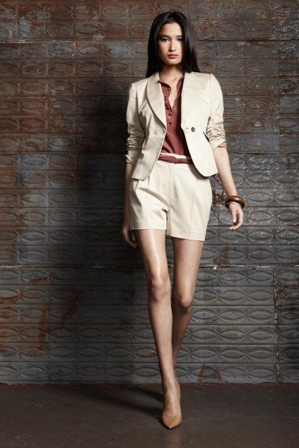 WOMEN'S POWER DRESSING: SHORT SUITS (CORPORATE FASHION TREND)
