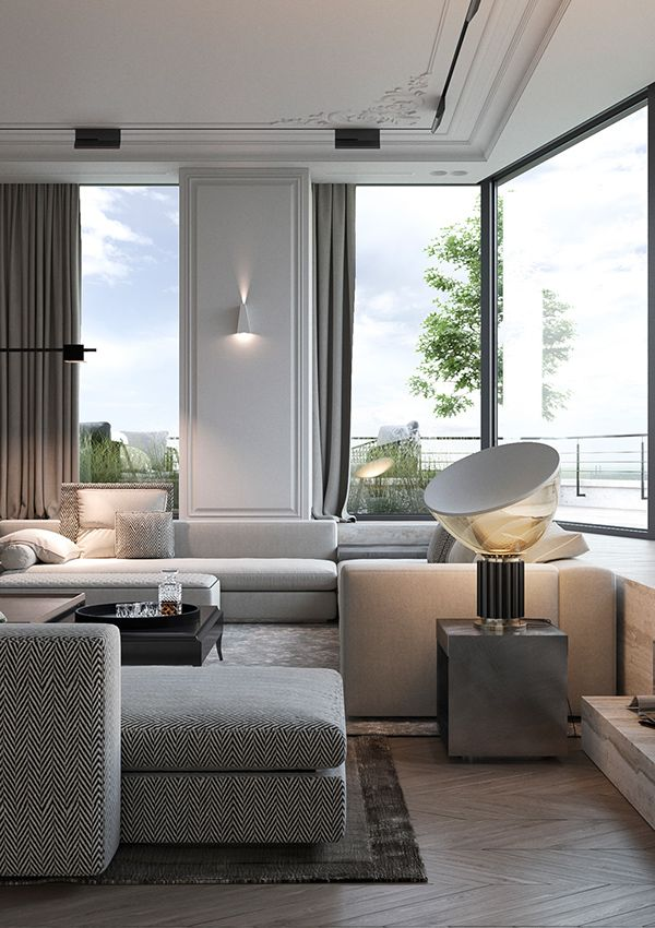 Penthouse on Behance