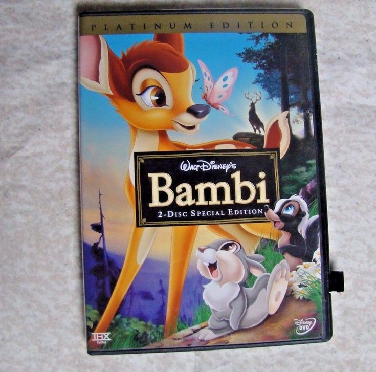 Bambi (DVD, 2005, 2-Disc Set, Special Edition/Platinum Edition) 786936244175 | eBay