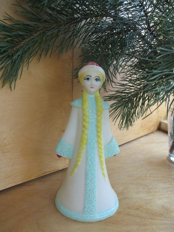 Soviet Snow-Maiden Snegurochka Vintage Russian by RussianOldThings