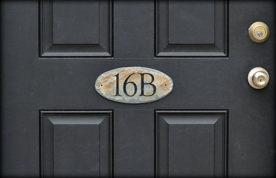 46 best images about address plate for front door on for Front door number plaques