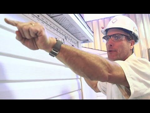 How to install vinyl siding (PART 1 of 3)