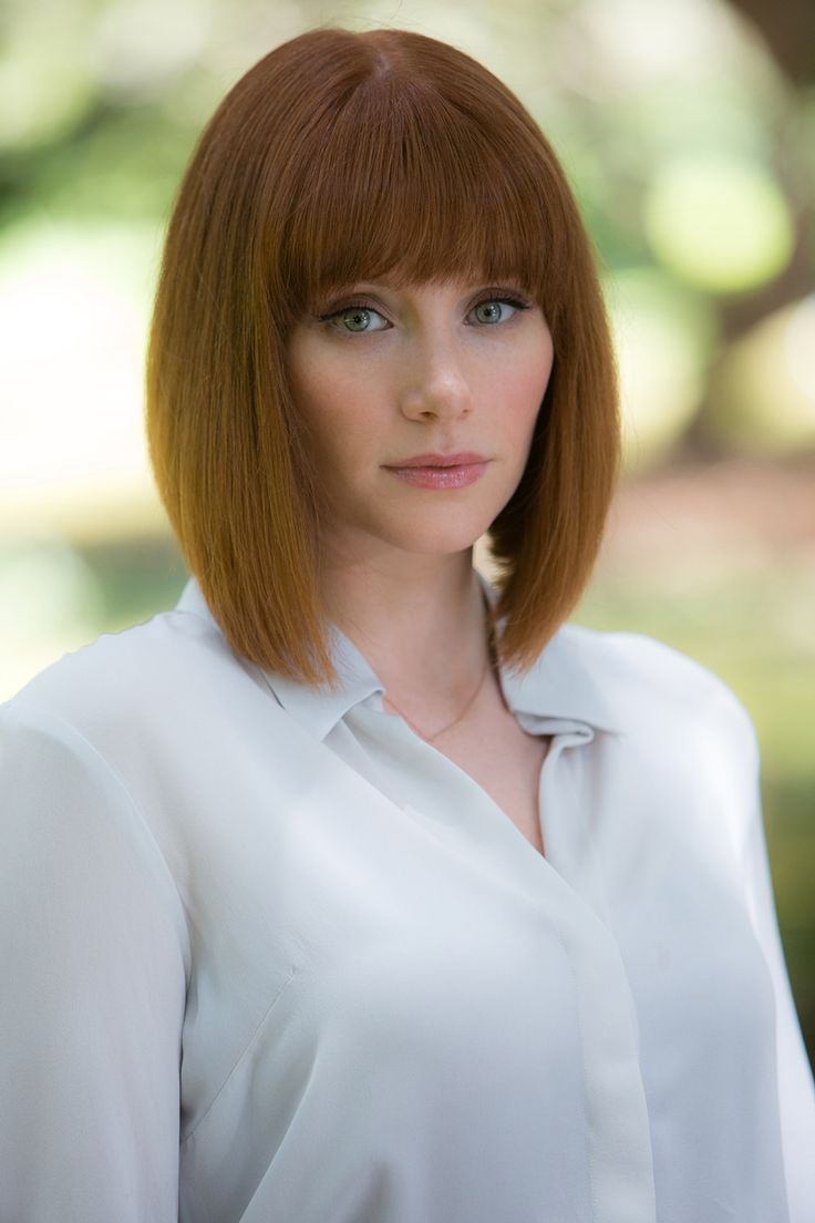 Bryce Dallas Howard as Claire Dearing in Jurassic World!!!