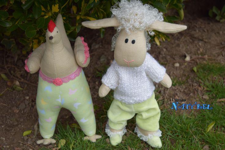 poule et mouton tilda