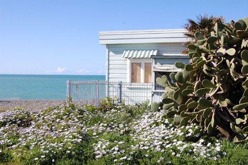 The classic Kiwi Bach (cottage)