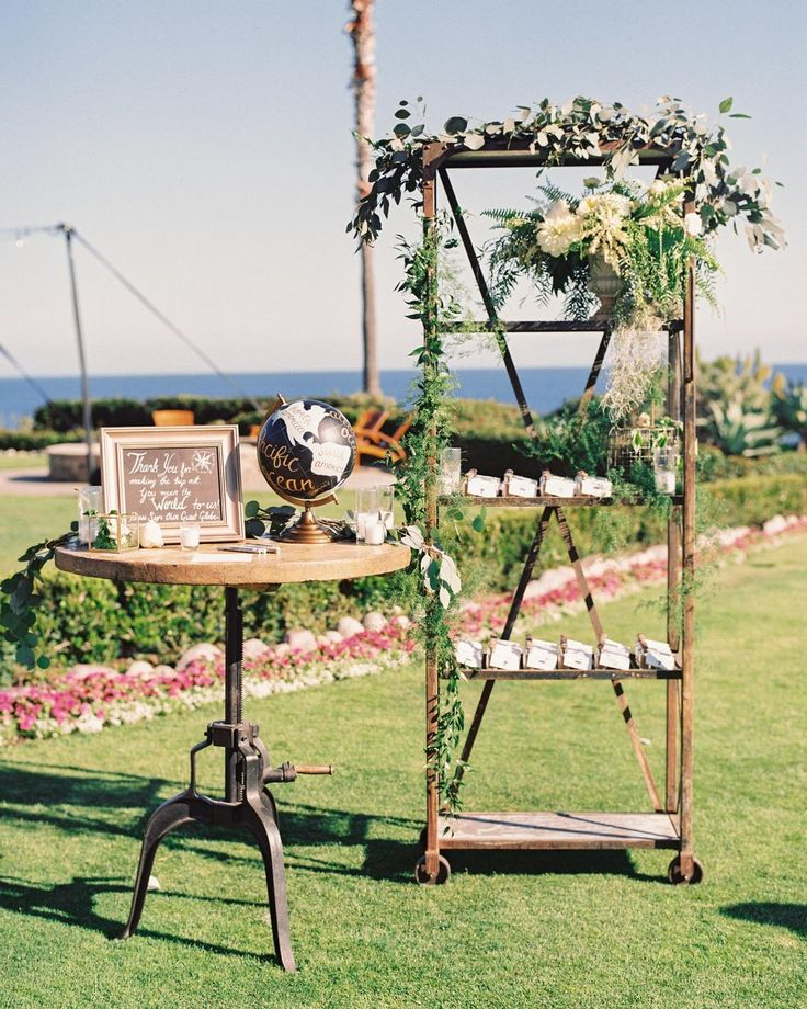 It's no surprise that travel is on our minds! Whether you're having a destination wedding or you just love to jet-set too we're sharing some fun ways you can incorporate travel inspired details into your wedding day #onIBTtoday! (link in bio Design: @agoodaffair Photo by @brandonkiddphoto Rentals: @foundrentals)