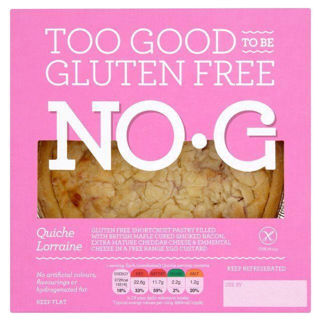Quiche lorraine gluten free