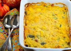 Boston Market Squash Casserole With crumbled cornbread instead of bread crumbs 13x11 or 2 smaller to freeze one for later. Food.co.