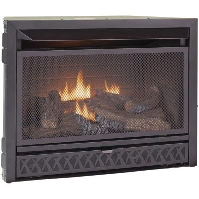 Procom 29 In Vent Free Dual Fuel Firebox Insert Home Fireplaces And Home Depot