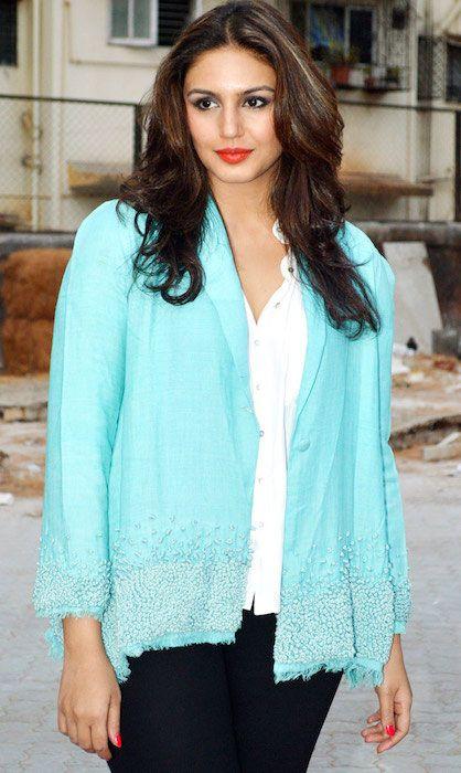 Indian actress, Huma Qureshi...