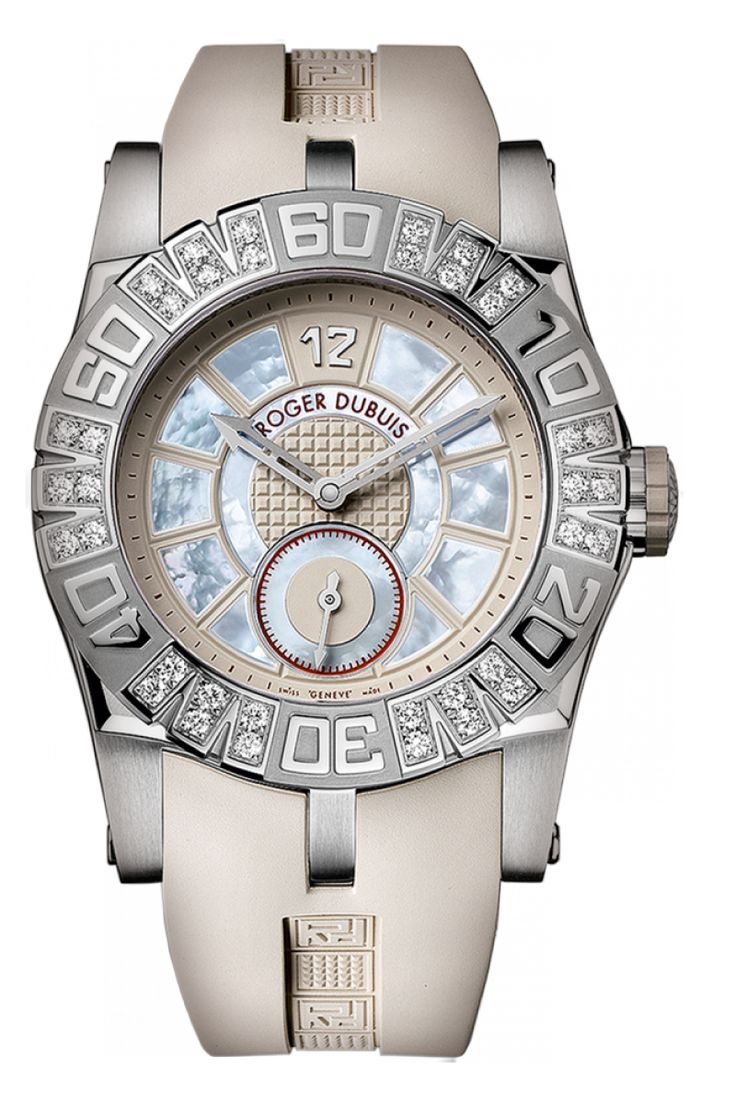 Часы Roger Dubuis RDDBSE0251 Easy Diver Automatic - белые - швейцарские женские наручные часы