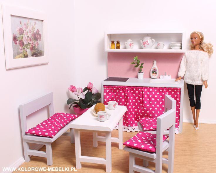 Kuchnia dla Barbie.