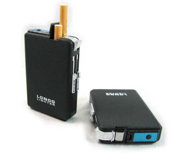 INFMETRY:: Automatic Dispensing Cigarette Case With Lighter  I'm not a smoker, but this is a cool gadget.