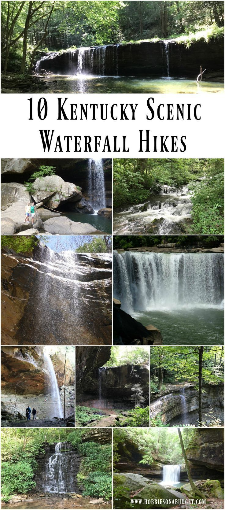 10 Kentucky Scenic Waterfall Hikes Kentucky Vacation Waterfall
