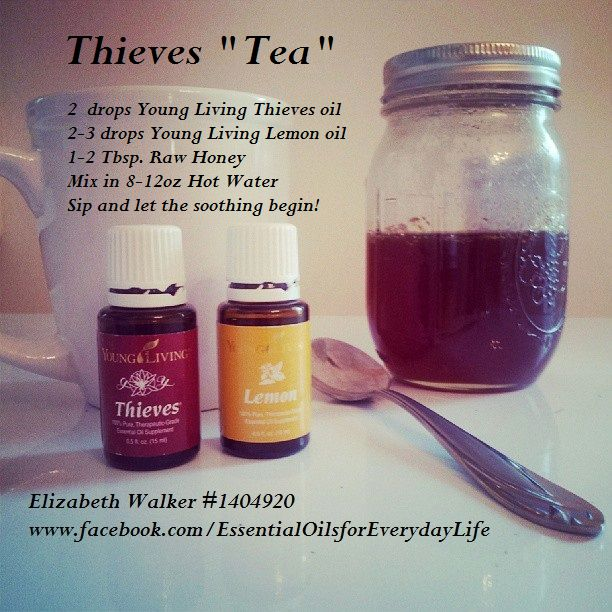 Young Living Lemon  Thieves Essential Oils:  Cold Cough Flu Www.youngliving.org/losteen1