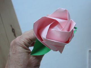alles-vanellis: origami roos