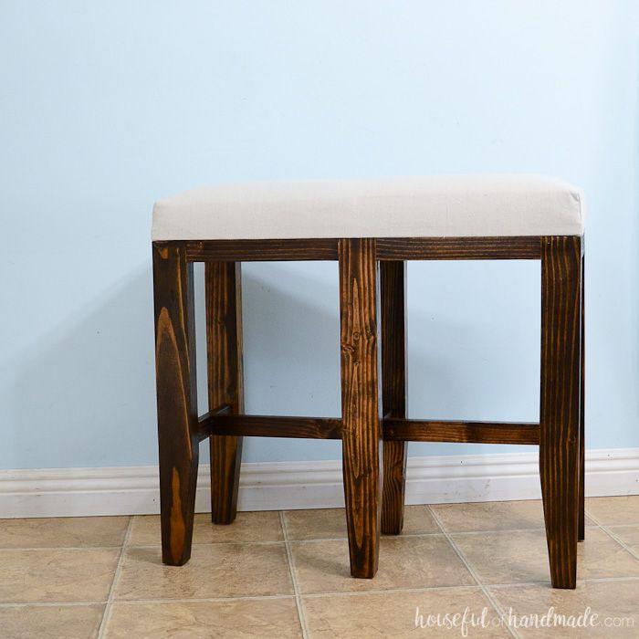 Upholstered Barstool Benches Diy Bar Stools Kitchen Bar Stool