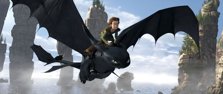50 incredible animated movies How To Train Your Dragon - 2010