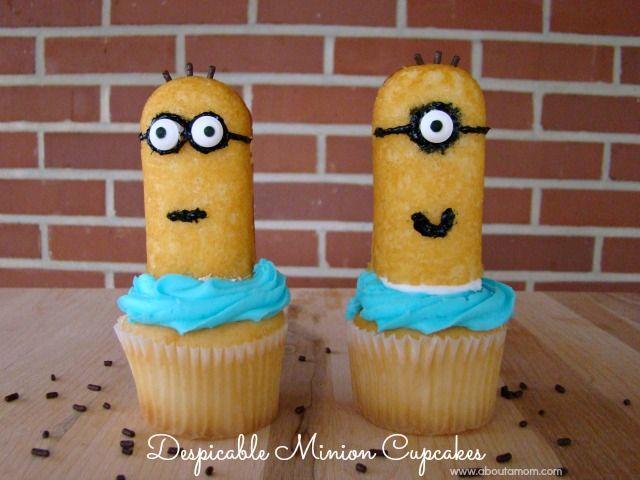 Minion Twinkies Cupcakes