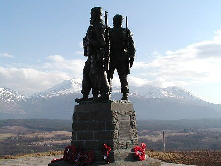 The Commandos were set up due to a request from Winston Churchill. During the Boer War in South Africa (1899-1902) Churchill was taken prisoner and was exposed to the Boer Commandos. This memorial in the Highlands remembers those and many more...