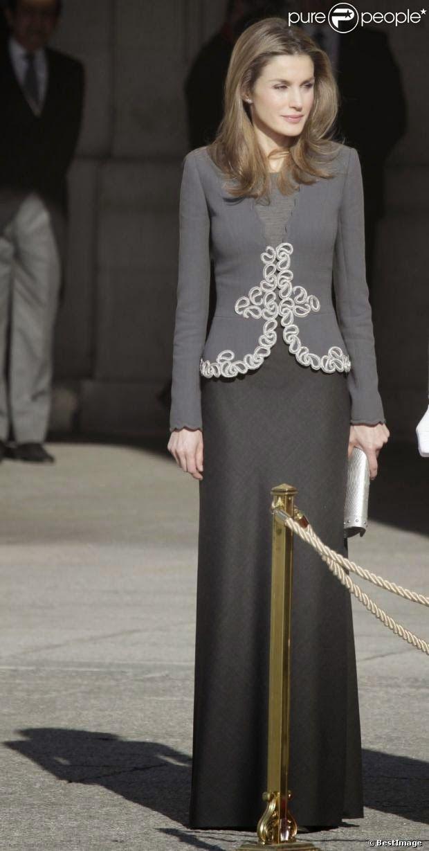 Reines & Princesses: Le dressing de Letizia