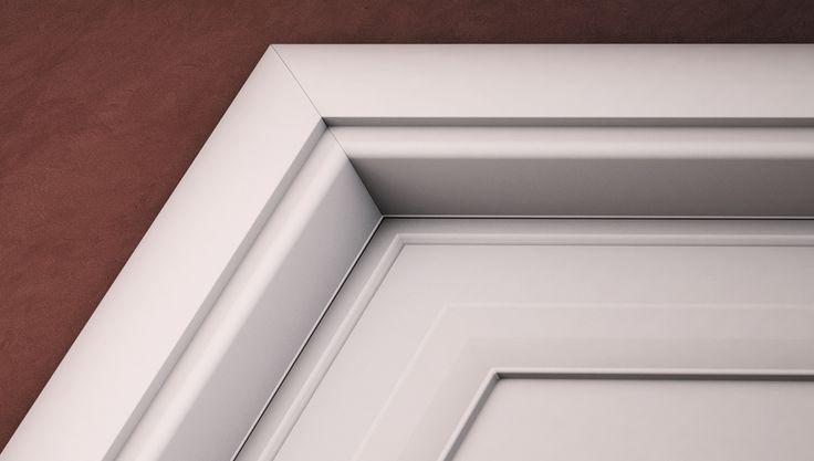 FBP porte | Collezione ASIA - Dettaglio telaio esterno #fbp #porte #legno #pantografata #door #wood