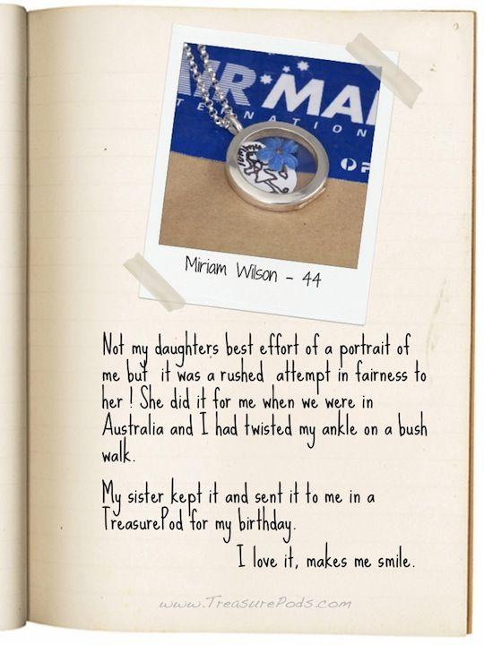 My #LocketStory - Miriam Wilson, 44