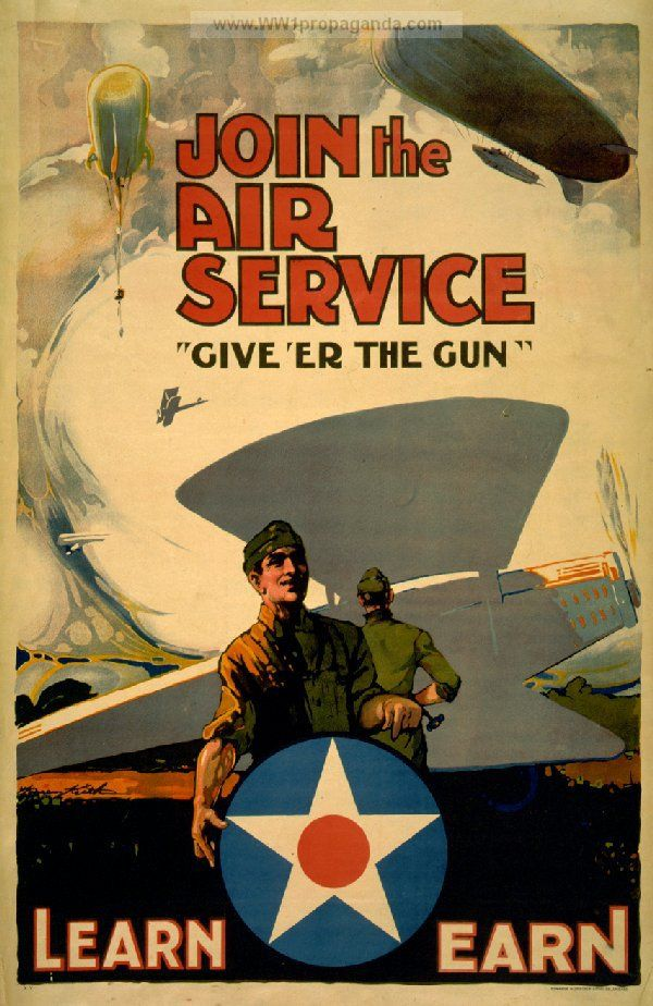 WW1 poster -- I draw a lot of inspiration from the time when posters were a dominant art form. An artist got a certain amount of space to fit words and pictures into a powerful statement -- each poster does what I try to do in each panel of a comic!