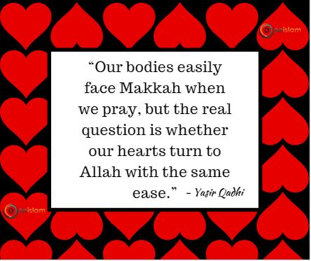 Does our heart turn towards Almighty Allah with the same ease as our bodies towards Makkah? #InnerReflections