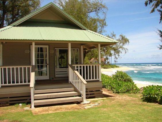 I want to live here in my next life!!!! Haena Kauai Beachfront Cottage Vacation Rental: Haena Love Shack   Luxury Kauai Vacation Rentals : Jean and Abbott Properties