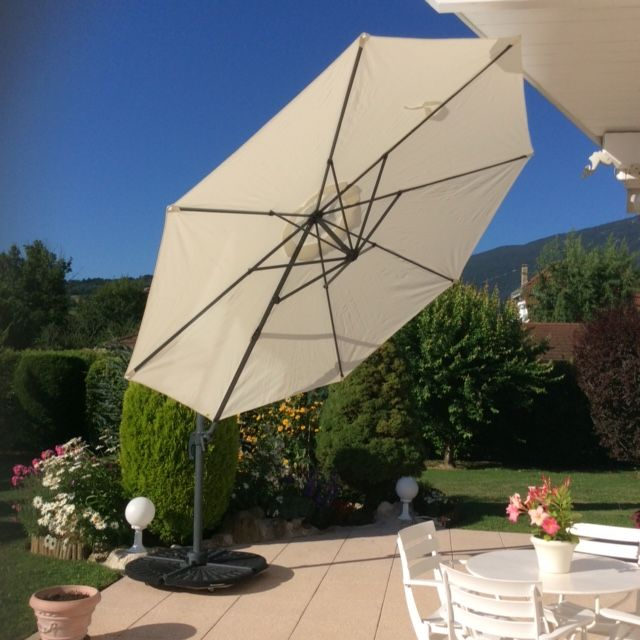 17 meilleures id es propos de parasol d port sur pinterest parasol terrasse parasol balcon. Black Bedroom Furniture Sets. Home Design Ideas