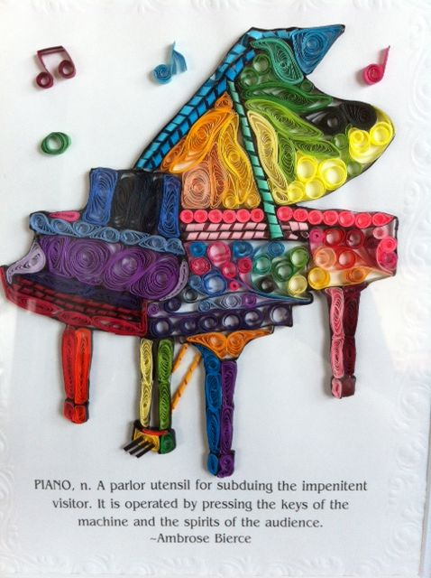 48 best images about quilling musical instruments on